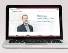 Hemsida och visuell identitet Backlund juridik